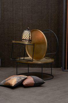 WARME HARMONIEN: Plüschig und naturbelassen. Ein Hoch auf die gediegene Behaglichkeit Trends, Ottoman, Chair, Furniture, Home Decor, Textiles, Decoration Home, Room Decor, Home Furnishings