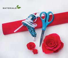 Kentucky Derby® DIY #2: Crepe Paper Roses Tutorial