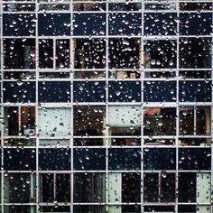 #raam #regen #regendruppels #ramen #kantoor