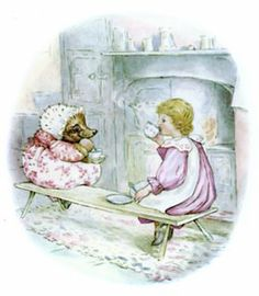 Oh, Please do come in... and join us for Apple Blossom Tea... Mrs. Tiggy-Winkle has just washed the nappykins and has set the table! ~Beatix Potter, The Tale of Miss Tiggy Winkle