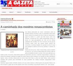 Veículo: site A Gazeta do Iguaçu. Clique na imagem para ver a matéria completa.