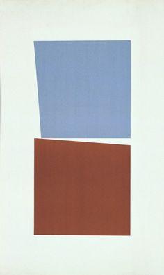 Verena Loewensberg  Ohne Titel, 1958. Lithographie,80 x 48cm