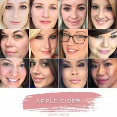 apple cider LipSense- 18hr lipstick, wax free, lead free, transfer proof, bleed proof, water proof - the last lipcolor you'll ever need!  Www.Happily.me