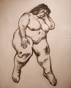 Lucian Freud - etching