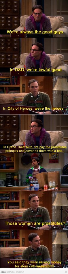 Big Bang theory :) hahaha