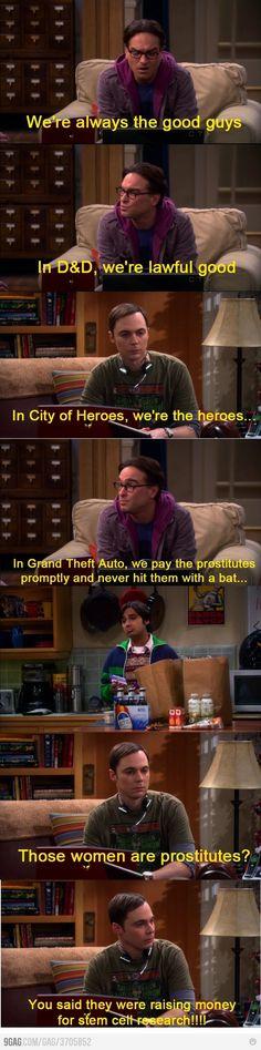 Big Bang theory :) hahaha
