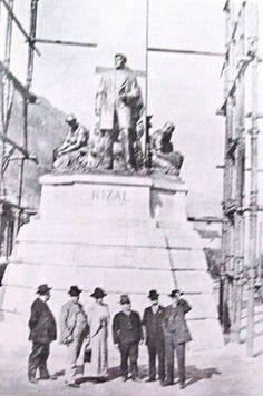 Rizal Monument in Switzerland before it's Manila transfer Philippines Culture, Manila Philippines, Old Pictures, Old Photos, Jose Rizal, Intramuros, Uk Visa, Filipino Culture, Vigan