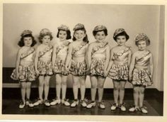 Clearer-in-person-Vintage-Dance-Dancers-Little-girls-5x7-50s-photo