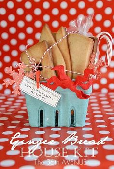Ginger Bread House Kit by the36thavenue.com