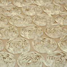 Antique Ivory Rosette