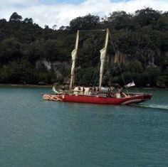 Sailing away from #whitianga