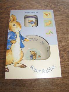 Wedgwood peter rabbit (new look) 2 piece set mug and bowl 50246401671