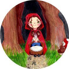 Little Red Riding Hood art by mjodzjo