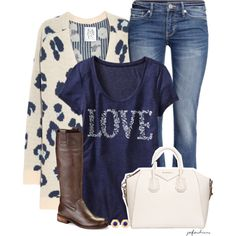 Love, created by jafashions on Polyvore