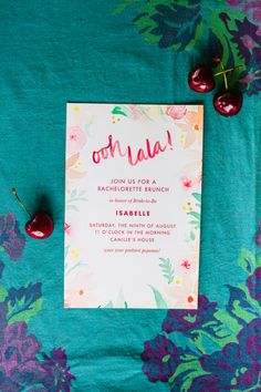 Bachelorette Party Invitiation