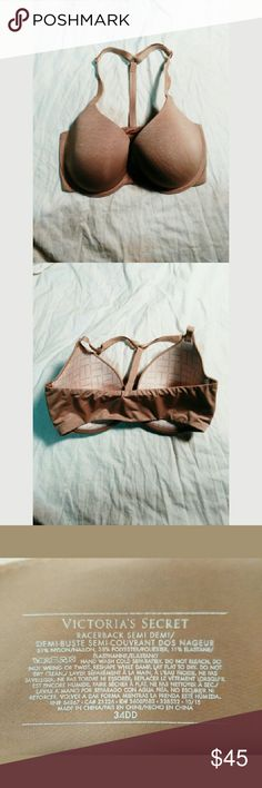 VS Push Up Bra Brand new Victoria's Secret racer back push up bra. Extremely soft with front closure and comfy racer back straps. I love these bras but I grabbed the wrong size :c never worn and no damage! Victoria's Secret Intimates & Sleepwear Bras