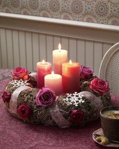 Adventskranz für romantische Adventssonntage!