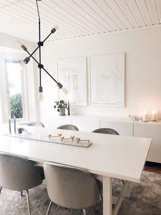 interiordesign table ikea velvet marble klong i Luxury Dining Room, Dining Room Sets, Dining Room Design, Interior Design Living Room, Interior Decorating, Ikea Dinning Table, Rooms Ideas, Apartment Design, Interiores Design