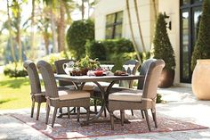 Martingale 7-Piece Outdoor Dining Set - Dining Furniture - Outdoor Furniture - Outdoor   HomeDecorators.com