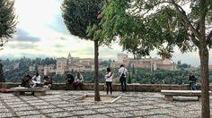 Mirador de San Nicolás. Albaicín. Granada. Costa, Granada Spain, Dolores Park, Street View, Travel, Outdoor, Maps, Santos, The World