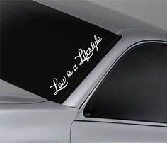 low is a lifestyle car window lettering decal sticker decals stickers