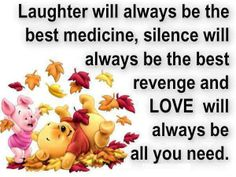 Laughter and love...