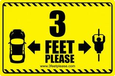 Good reminder - on the road give cyclists 3 feet.