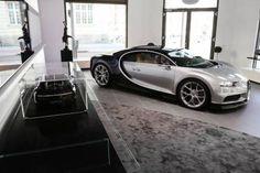 Bugatti Abre Nueva Sala De Exhibiciones De Automóviles & Boutique EnMúnich