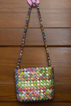 candy wrapper purse!
