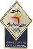 Sydney 2000 Olympic Pin 2000 Olympics, Summer Winter, Olympic Games, Sydney, Cards, Map