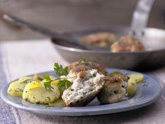 Fischfrikadellen – smarter - mit Kartoffelsalat - smarter - Kalorien: 426 Kcal - Zeit: 1 Std. 10 Min.   eatsmarter.de