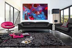 Wohnen mit Kunst! Abstrakt Bild von Künstlerin Gordana Veljacic