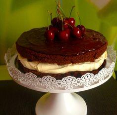 Ciasto z kremem oreo. | Lady Laura Lady Laura, Cake Cookies, Cheesecake, Yummy Food, Meals, Recipes, Food Cakes, Eten, Delicious Food