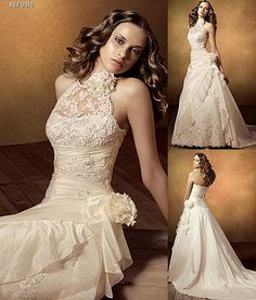 Love the lace and flower thingee . . . and how it shows the shoulders
