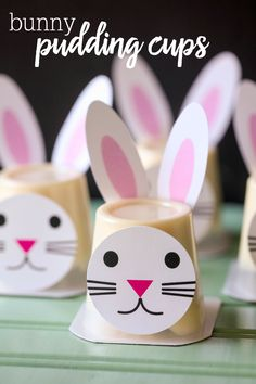 40 Adorable Easter Bunny Crafts For Kids 40 Adorable Easter Bunny Crafts For KidsThis post contains affiliate links. For more information please read my 40 Adorable Easter Bunny Cra # Rabbit Crafts, Bunny Crafts, Easter Snacks, Easter Party, Easter Gift, Easter Garland, Easter Centerpiece, Easter Wreaths, Cute Easter Bunny