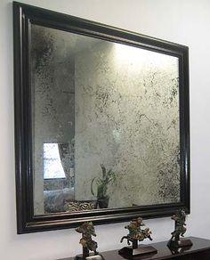Atlanta Antiqued Mirrors Mirrored Wall Panels Drexler