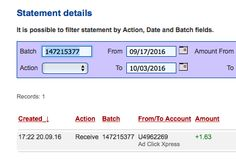 ACX is the MOST POWERFUL & SIMPLEST PROGRAM ONLINE! New 30/70 Rule GUARANTEES... Here is my Withdrawal Proof from AdClickXpress. I get paid daily and I can withdraw daily. Online income is possible with ACX, who is definitely paying - no scam here.I WORK FROM HOME less than 10 minutes and I manage to cover my LOW SALARY INCOME. https://twitter.com/stefanijastef/status/782583896663846912