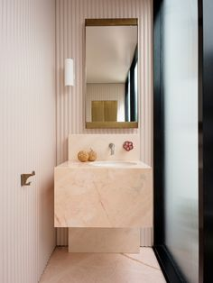 Potts Point Residence by Flack Studio | Yellowtrace Interior Design Awards, Home Interior, Interior Plants, Interior Ideas, Interior Inspiration, Flack Studio, Sydney, Marble Fireplace Surround, Polished Plaster