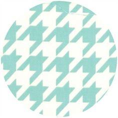 Bonnie & Camille, Vintage Modern, Houndstooth Sky  fabric for nursery!