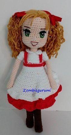 This Pin was discovered by HUZ Crochet Amigurumi Free Patterns, Crochet Doll Pattern, Crochet Bunny, Crochet Toys, Crochet Disney, Crochet Doll Clothes, Crochet Slippers, Pretty Dolls, Soft Dolls