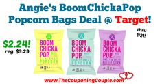 LOVE this deal! These always sound so good, if you've been wanting to try them, now is the time! Quick Deal on Angie's BoomChickaPop Popcorn Bags @ Target!  Click the link below to get all of the details ► http://www.thecouponingcouple.com/quick-deal-on-angies-boomchickapop-popcorn-bags-target/ #Coupons #Couponing #CouponCommunity  Visit us at http://www.thecouponingcouple.com for more great posts!