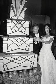Go Inside George Clooney and Amal Alamuddin's Wedding With Never-Before-Seen Snaps!