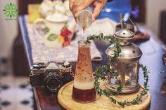 Pha chế trà 3 tầng tại Ẩm thực 24h