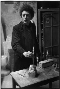 Alberto Giacometti by Henri Cartier-Bresson, 1961