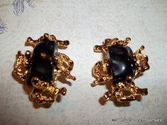Vintage Ivana Trump Earrings