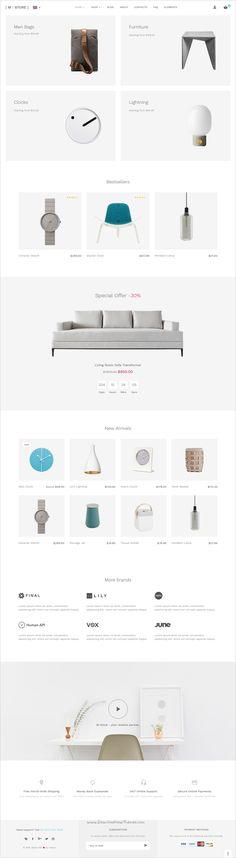 Mstore is a lightweight, clean and powerful #Bootstrap #template for…