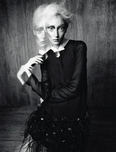 Alexa Yudina by Benjamin Vnuk for Tush Magazine Fall 2013