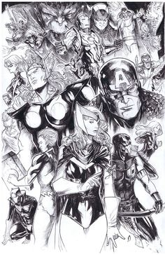 Avengers by Peter Nguyen