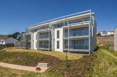 Sea facing Balconies Balconies, Garage Doors, Houses, House Design, Sea, Outdoor Decor, Home Decor, Verandas, Homes