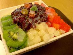 Patbingsu, aperitivo popular de Corea del Sur
